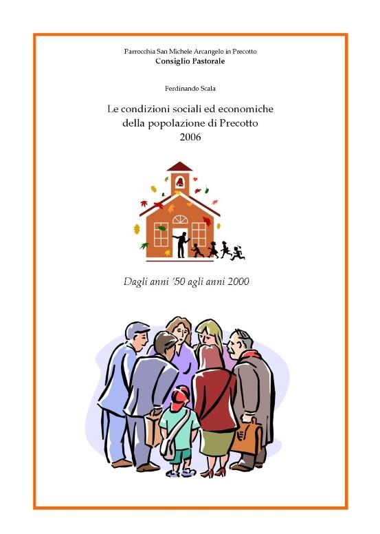Indagine socio-economica della popolazione di Precotto