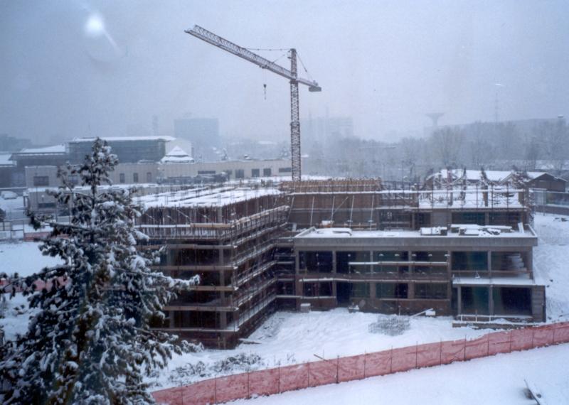 RSA in costruzione. 2000. Inverno.