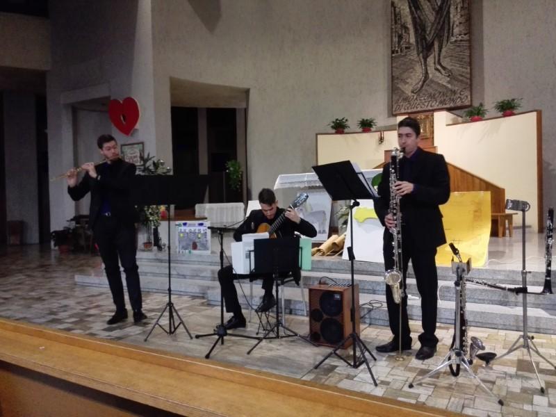 Concerto di Natale nella chiesa di Cristo Re