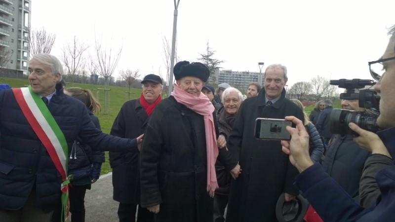 Inaugurazione Parco Franca Rame