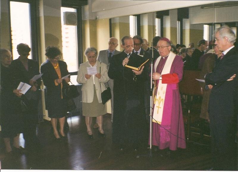 Inaugurazione palestra 1998
