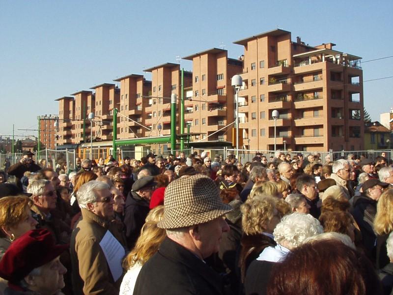 Inaugurazione della via Bigiogera - Popolo in festa
