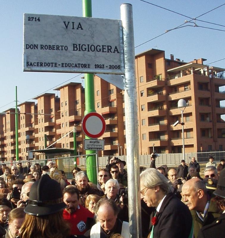Inaugurazione della via Bigiogera - Vittorio Sgarbi