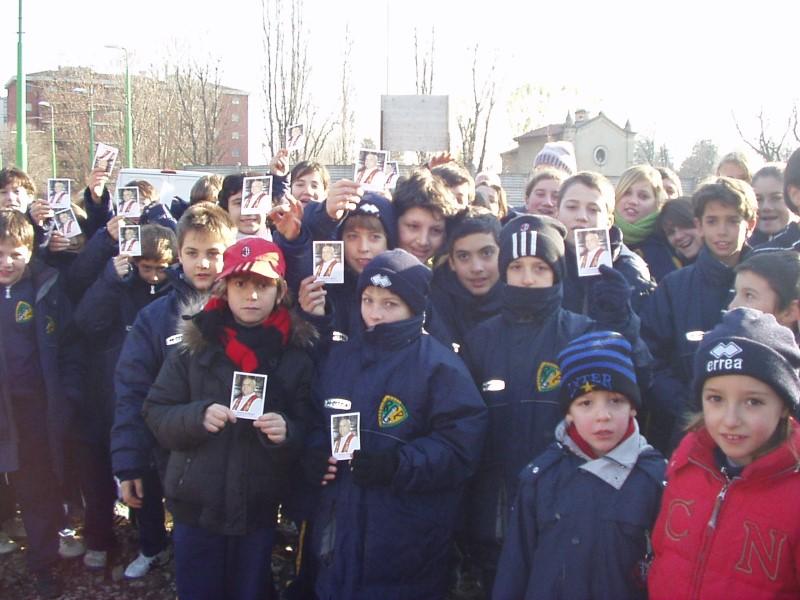 Inaugurazione della via Bigiogera - I bambini