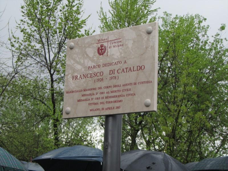 Intitolazione Parco Di Cataldo