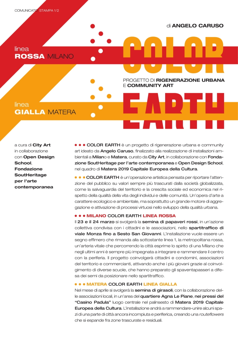 Locandina Color Earth
