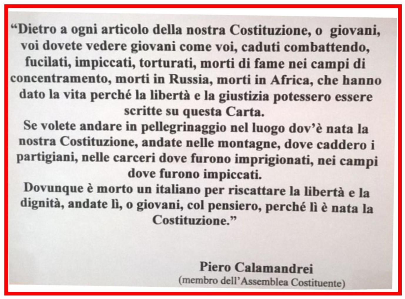 Frase di Pietro Calamandrei